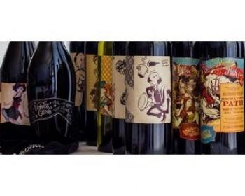 Украинские этикетки на импортных винах