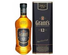 Виски Grant's 12 лет 0,75 л. в кор.