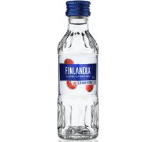 Водка Финляндия Клюква белая 37,5% 0,05л
