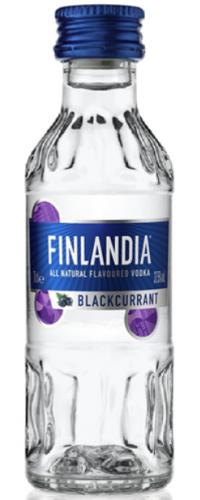 Водка Финляндия (Finlandia) Черная смородина 0,05л
