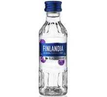 Водка Финляндия Черная смородина 37,5% 0,05л