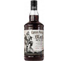 Ром Captain Morgan Black Spiced 1л 40% (5000281034980)