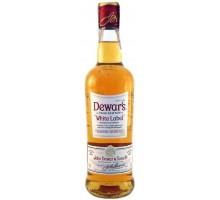 Виски Дьюарс Вайт Лэйбл 0,5л