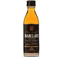Виски Barclays Барклайс 40% 0,05л