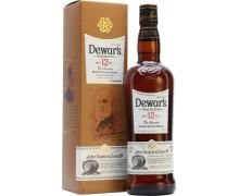 Виски Дьюарс 12 летний в подарочной коробке 0,5л