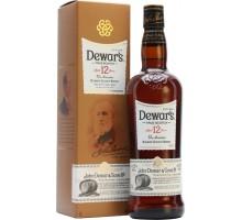 Виски Дьюарс 12 летний в подарочной коробке 40% 0,5л