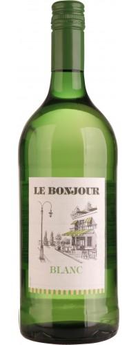 Вино LE BONJOUR (Ля Бонжур) біле сухе 1л (3263286316044)
