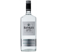 Джин Bankes London Dry Gin 1 л 40%