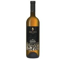 Вино Асканелі Гурджаані біле сухе 0.75л (4860053010106)