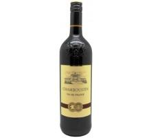 Вино Шамбустин красное сухое 1л