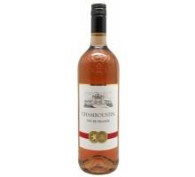 Вино Шамбустин розовое сухое 1л