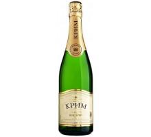 Вино игристое Крым белое брют 0,75л