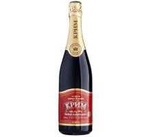 Вино игристое Крым красное полусладкое 0,75л