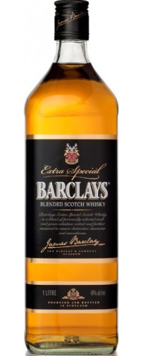 Виски Barclays Барклайс 0,7л
