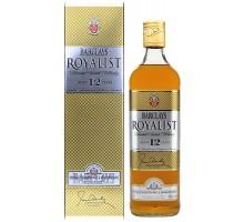 Виски Barclays Royalist Роялист 12YO 0,7л