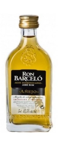 Рон Барсело Аньехо (Ron Barcelo Anejo) 37,5% 0,05л