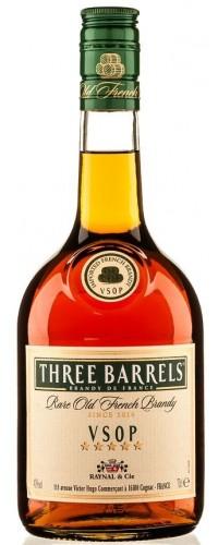 Бренди Three Barrels VSOP 0,7 л.