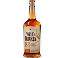 Виски (бурбон) Wild Turkey 81 1,0л