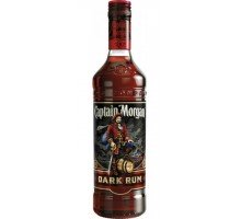 Ром Captain Morgan Dark Rum 0.5 л 40% (87000651289)