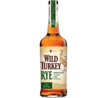 Виски (бурбон) Wild Turkey Kentucky Straight Rye от 4 лет выдержки 0.7 л 40.5% (721059847001)