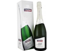 Вино игристое Cinzano Asti 0,75л в коробке