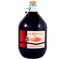 Вино Verga Le Rovole Nero D'avola красное сухое 5л