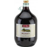 Вино Verga Le Rovole Rosso красное сухое 5л