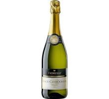 Вино игристое Fiorelli Pinot Chardonnay белое сухое 0,75л