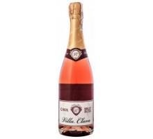 Вино игристое Villa Clara Cava Brut Rose 0,75л