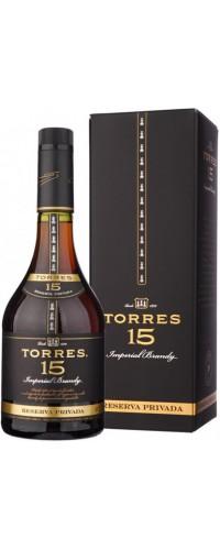 Бренди Torres (Торрес) 15 лет 0,7л в коробке