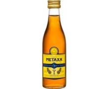 Бренди Метакса Metaxa 5* 38% 0,05л