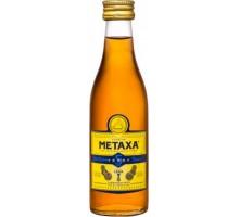 Бренди Метакса Metaxa 5* 0,05л