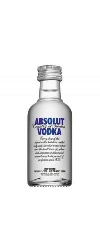 Водка Absolut (Абсолют) 0,05л