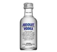 Водка Absolut 40% 0,05л