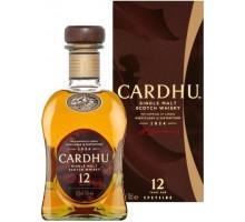 Виски Cardhu 12 лет выдержки 0.7 л 40% (5000267102573)