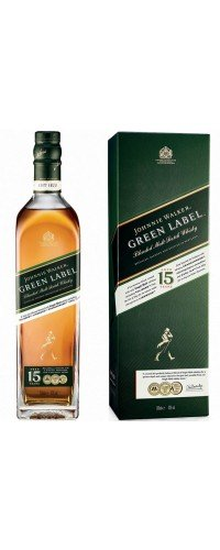 Виски Johnnie Walker Green label 15 лет выдержки 0.7 л 43% (5000267134710)