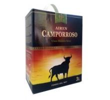 Вино белое сухое Кампорросо Айрен 3 л