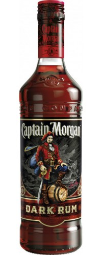 Ром Captain Morgan Dark, Капитан Морган Дарк, 1л 40% (087000006935)