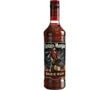 Ром Captain Morgan Dark 1,0л 40%