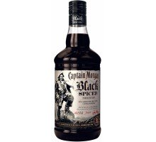Ром Captain Morgan Black Spiced 0.7л 40% (5000281033273)