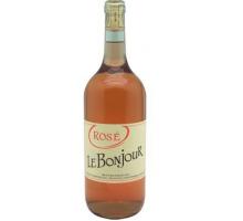 Вино LE BONJOUR розовое сухое 1л