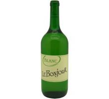 Вино LE BONJOUR белое сухое 1л