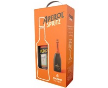 Набор Аперитив Aperol 11% 0,7л + Вино игристое Cinzano Pro-Spritz белое сухое 0.75 л 11%