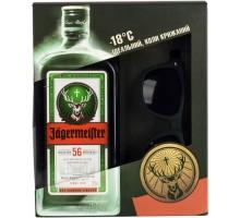 Ликер Jagermeister 35% 0.7л + Очки