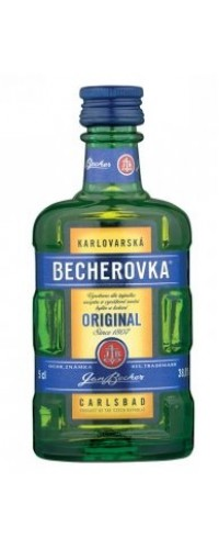 Ликер Becherovka Бехеровка 0,05л