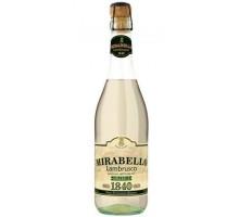 Вино игристое Ламбруско Мирабелло Бьянко 0,75л полусладкое
