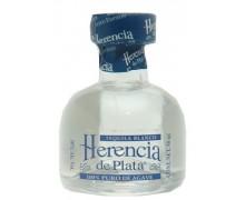 Текила Herencia De Plata 100% Agava Silver 38% 0,05л