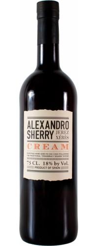 Херес Alexandro Cream 18% 0.375 л (8437007529500)