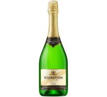Вино игристое Bagrationi классическое белое сухое 0,75л
