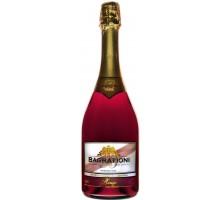 Вино игристое Bagrationi красное полусладкое 0,75л